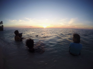 A perfect way to end my day after a long journey Location : Karimunjawa, Indonesia