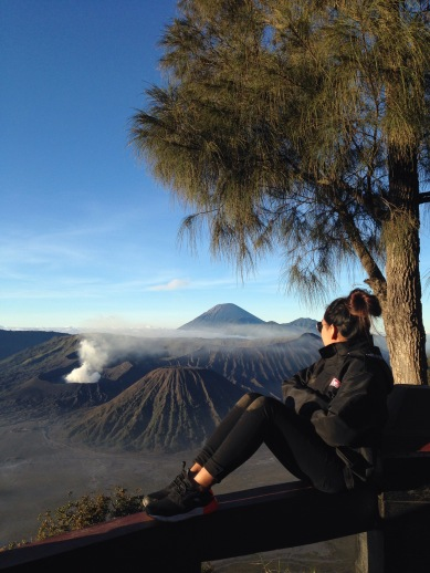 Getting up at 3am to watch the sunrise over Mount Bromo. Location : Mount Bromo, Java