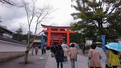 Fushimi Inari-taisha, Shinto shrine in Kyoto.