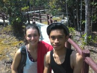 Met Sarah From Germany when we are heading to Emerald Pool in Krabi. She's humble and a great company.