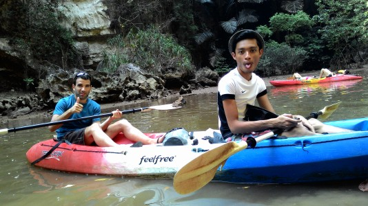 Met Beñat from Spain as a kayaking partner in Krabi since he's is going solo too. Told me about the culture in Spain and the development of the country.